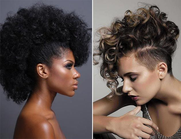 Mohawk Styles For Curly Hair: 534 Best Faux Mohawk Images On Pinterest