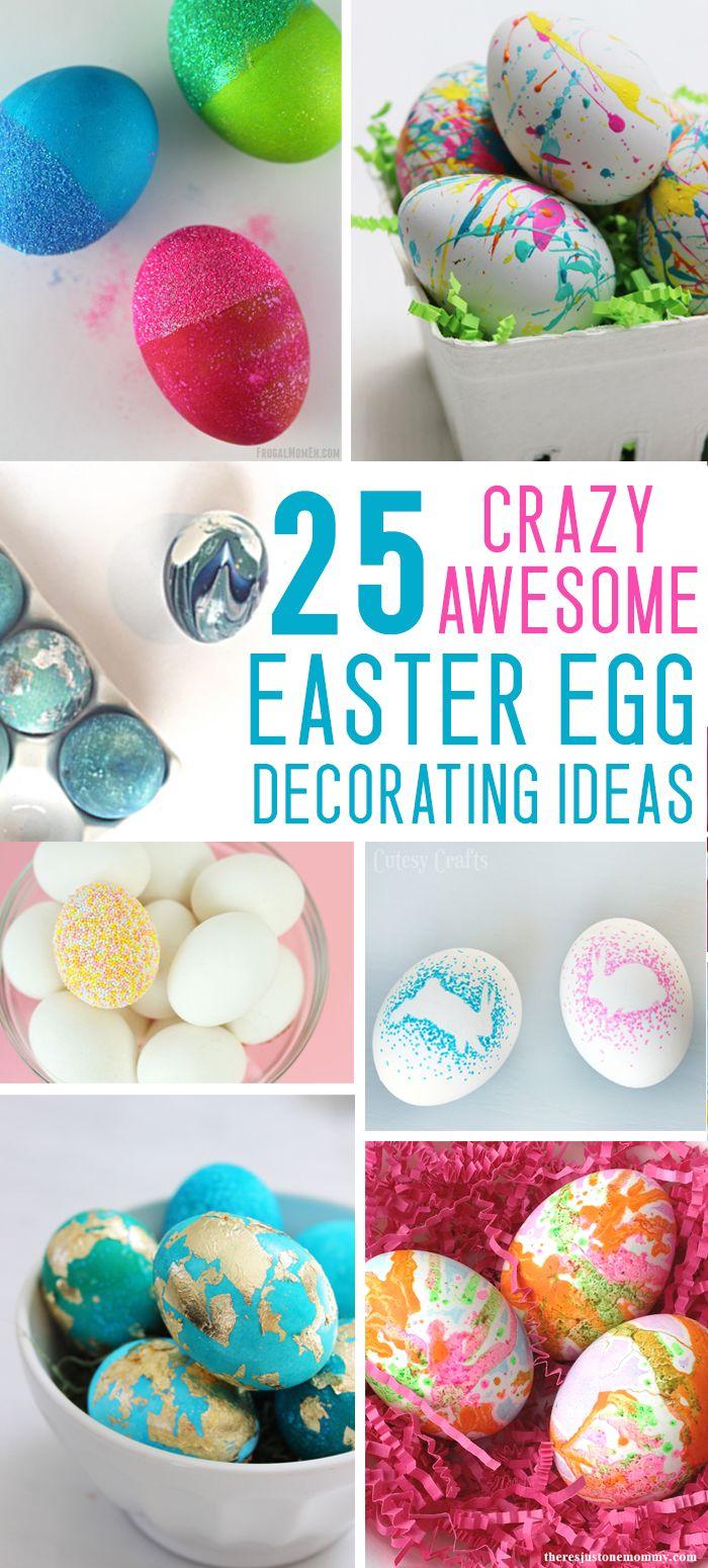25 Easter Egg Decorating Ideas