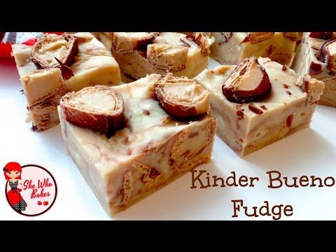 How To Make Kinder Bueno Fudge - YouTube