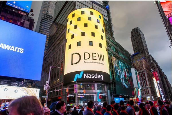 Is DEW's appearance on Nasdaq the sign of 2.0 Era in asset-transaction services?