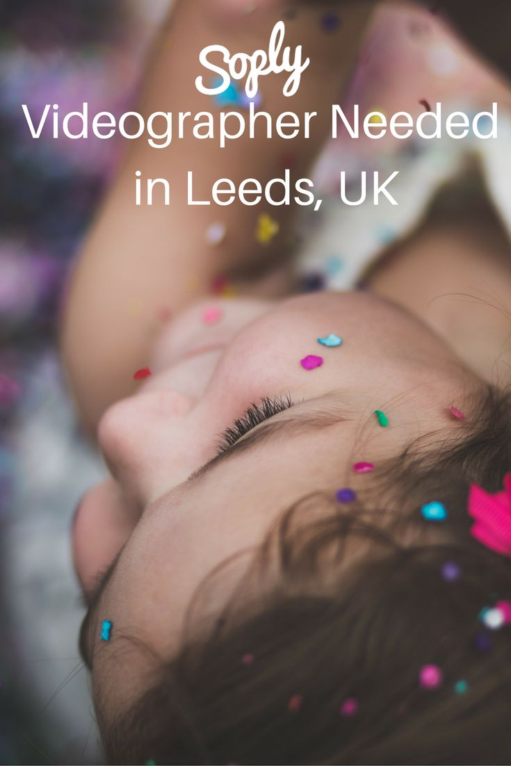 Videographer needed for a 3rd birthday party in Leeds, UK on September 17th. The…