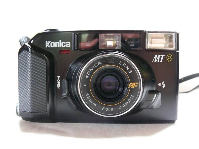 Konica MT-9 Autofocus, Vintage Camera, 35mm Camera, Konica Camera, 35mm Film Camera, Vintage Konica, Compact Camera, Viewfinder Camera by HarmlessBananasTribe on Etsy