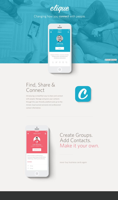 Clique / VIA moneypro / #app #flat