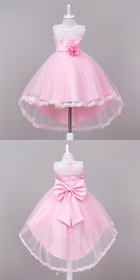 Only $35.9, Cheap Flower Girl Dresses High Low Red Floral Cheap Flower Girl Dress With Lace Trim #QX-891 at #GemGrace. View more special Flower Girl Dresses,Cheap Flower Girl Dresses now? GemGrace is a solution for those who want to buy delicate gowns with affordable prices. Free shipping, 2018 new arrivals, shop now!