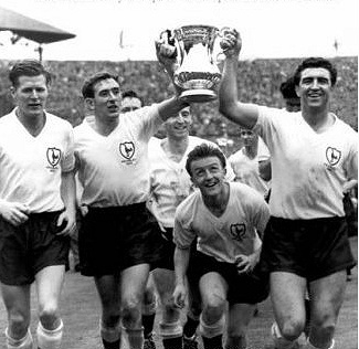 Spurs FA cup final Win. 1961: Tottenham Hotspur 2. Leicester City 0