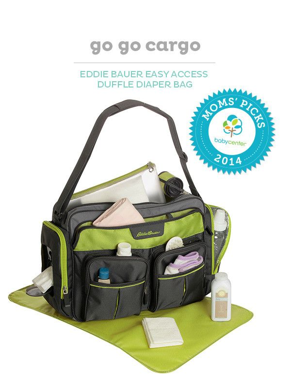 eddie bauer easy access duffle diaper bag black lime dads the o 39 jays and bags. Black Bedroom Furniture Sets. Home Design Ideas