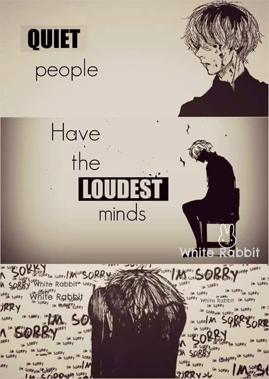 Tokyo Ghoul: this is true; realy true. and it's not funny. :(