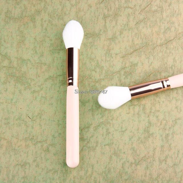 Profesyonel Gül Altın Kolu Makyaj Fırçalar Pudra Allık Kontur Fırçalar Vakfı Kapatıcı Fırça Araçları