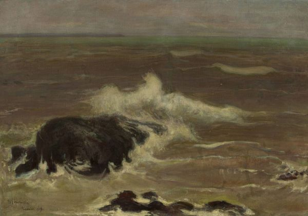 Morze - Władysław Ślewiński