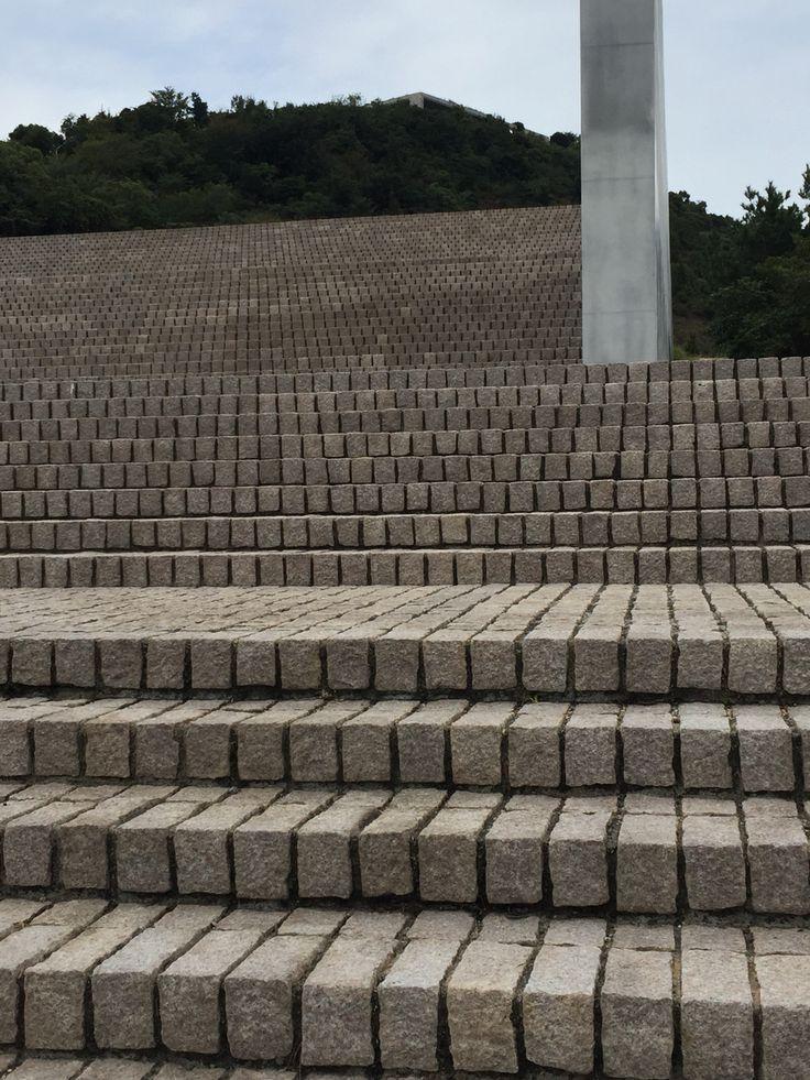 Stairs. Tadao Ando. Benesse house
