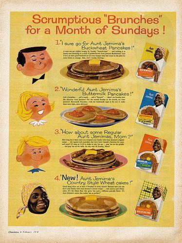 Vintage Ad: Vintage Aunt, Jemima Ads, Vintage Observed, Black Americana, Aunt Jemima, Jemima Brunch, Vintage Food, Vintage Ads, Vintage Recipes Ads