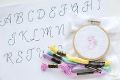 Free Embroidery Patterns for Monograms