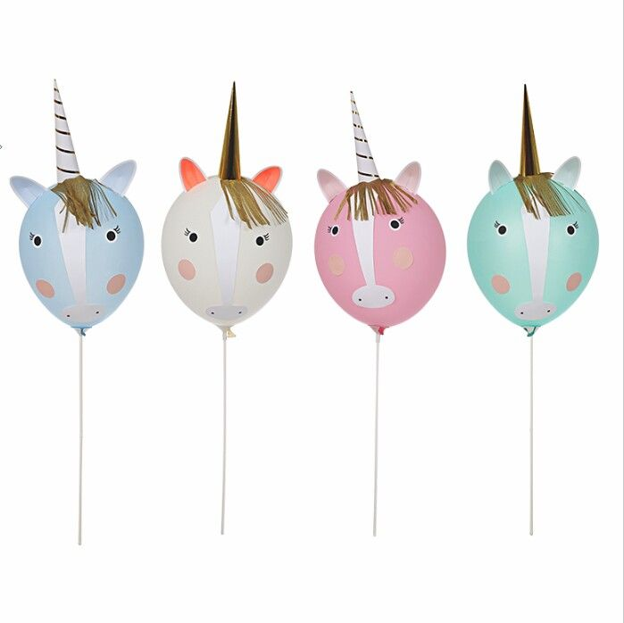 DIY Unicorn Balloon Kit Shop onelittlepalace.etsy.com