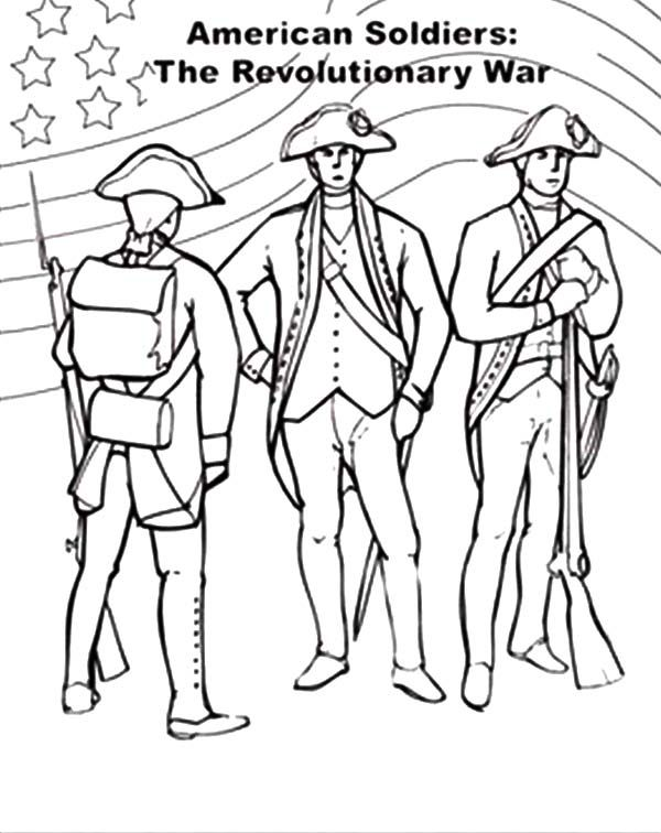 Civil War Coloring Pages Revolution Flag Revolution Flag On