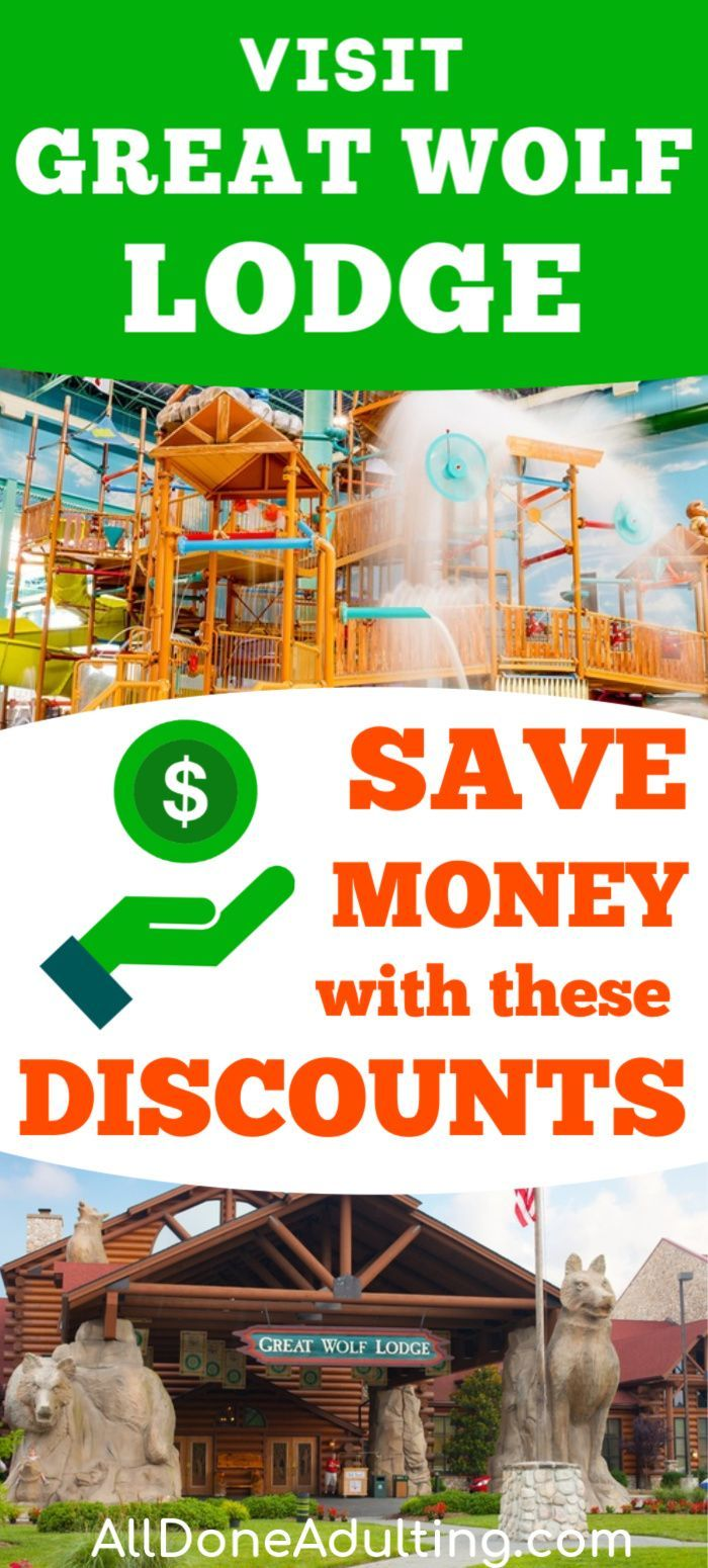 $ Save money on your visit to Great Wolf Lodge wit…