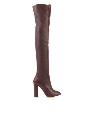 Kensington leather over-the-knee boots | Aquazzura | MATCHESFASHION.COM AU