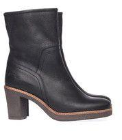 Zwarte Via Vai boots 121403 enkelaarsjes