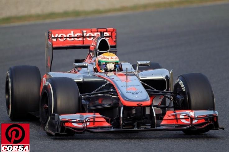 Vodafone McLaren Mercedes, Lewis Hamilton