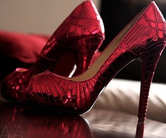 I want these!!: Fashion, Style, Ruby Red, Red Shoes, Ruby Slippers, Red Heels, High Heels, Christian Louboutin, Place