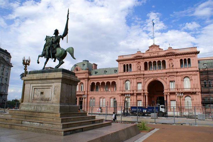 Plaza de Mayo in Buenos Aires is rich with historical and political significance for the city.