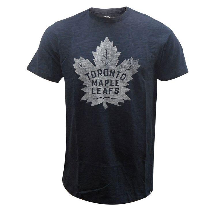 Toronto Maple Leafs '47 Brand Men's Scrum Logo Short Sleeve