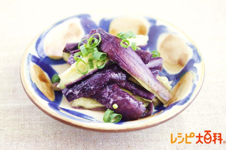 [夏の涼理術] レンチンなすナムル レシピ | 味の素KK「レシピ大百科®」 | Antenna