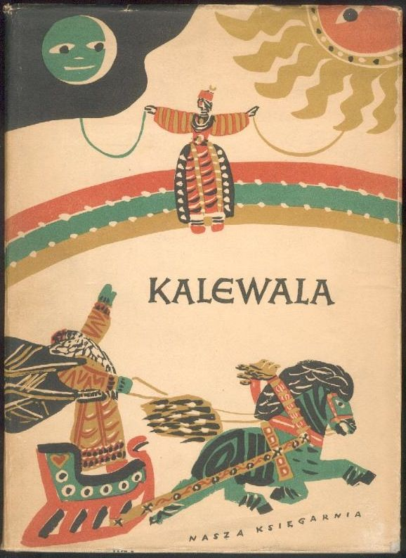 Illustration by M. Bylina for Polish edition of Kalevala,1958