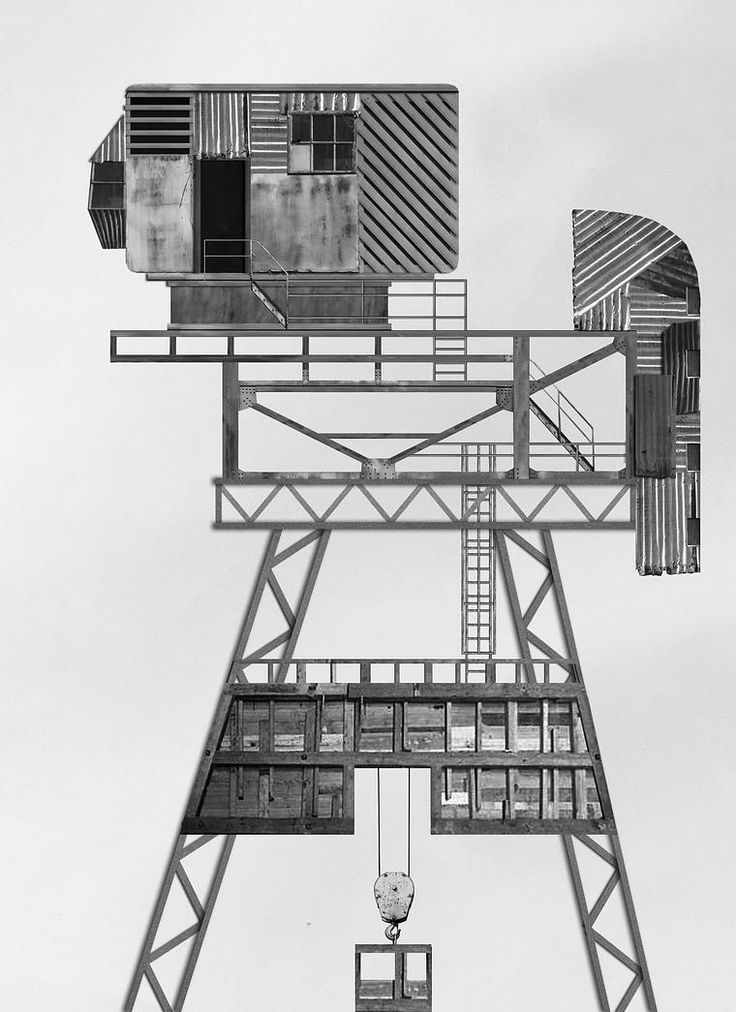 Crane Observations (Urban Posters 2)