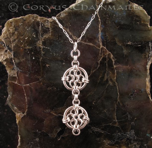 1000 Images About Jewelry Chain Maille Pendants On