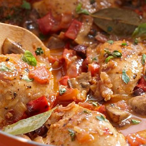 Chicken Cacciatore by Curtis Stone
