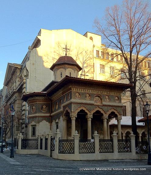 Biserica Stavropoleos, Bucuresti ((c)Valentin Mandache historo.wordpress.com)