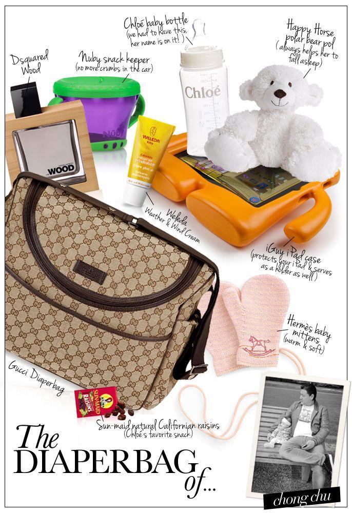 Pret a Pregnant - The Diaperbag of... Chong Chu