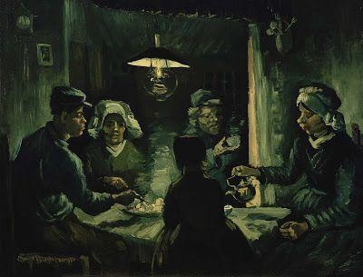 The potato eaters1885 Van Gogh