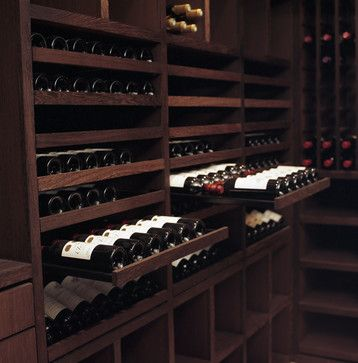 Contemporary Wine Cellar basement wine cellar Design Ideas, Pictures, Remodel and Decor