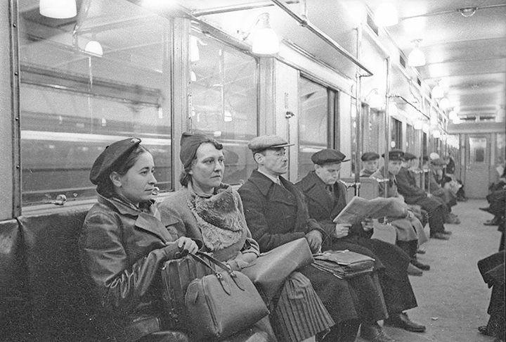Московское метро довоенной поры.