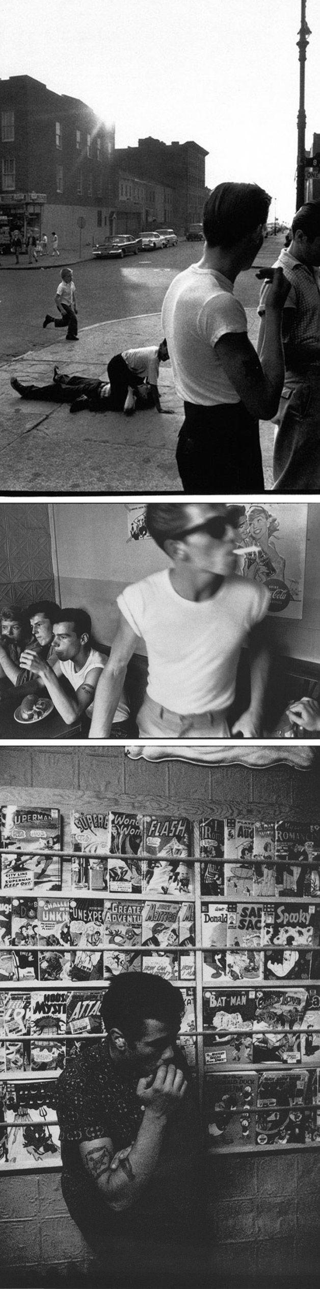 Jokers - 50's gang of NY - Photo by Bruce Davidson