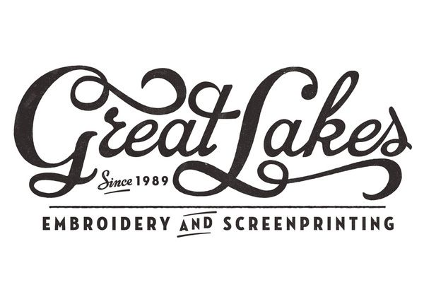 great lakesDesign Inspiration, Neil Tasker, Hands Letters, Brand, Graphics, Great Lakes, Typography, Lakes Embroidery, Hand Lettering