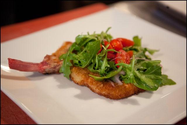 Pork Chop Milanese with Arugula Salad | Favorite Recipes (Recetas fav ...