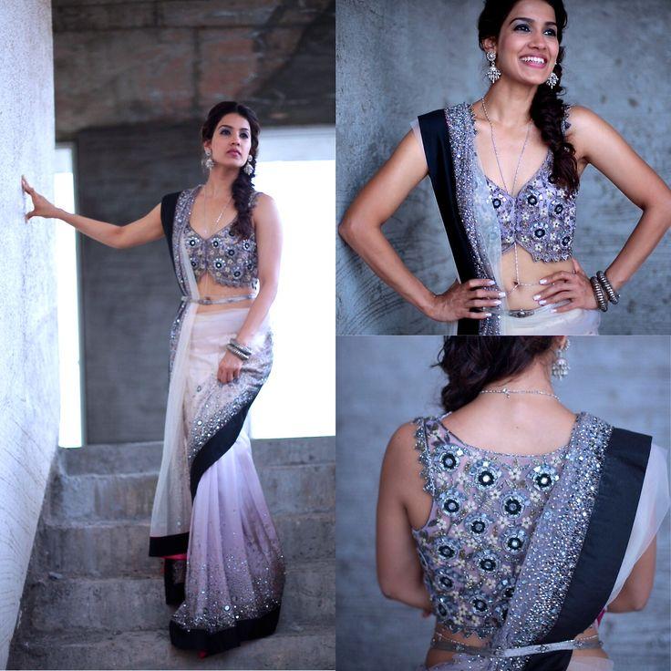 The stunning modern #IndianBride by @arpita_mehta http://ArpitaMehta.in/