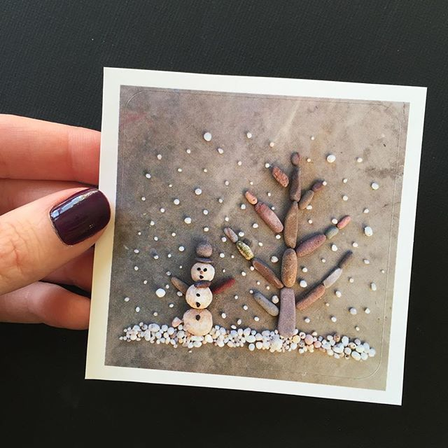 Just listed a couple winter theme stickers in the shop, this cute little snowman and a nativity scene made from rocks found in the Sonoran desert. The link is on my profile and you can use the code: Thankyou16 for 20% off a purchase of $20. ☃❄️