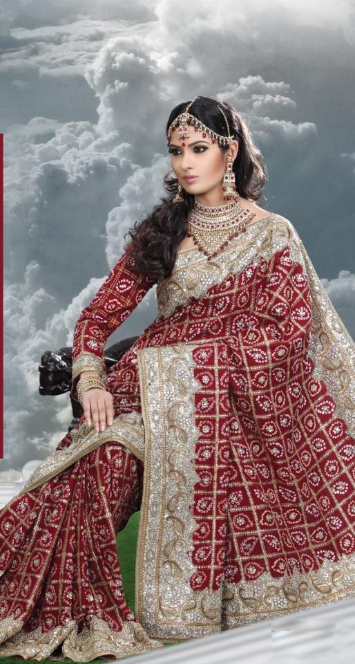 $272.31Red Bandhani Georgette Bridal Saree