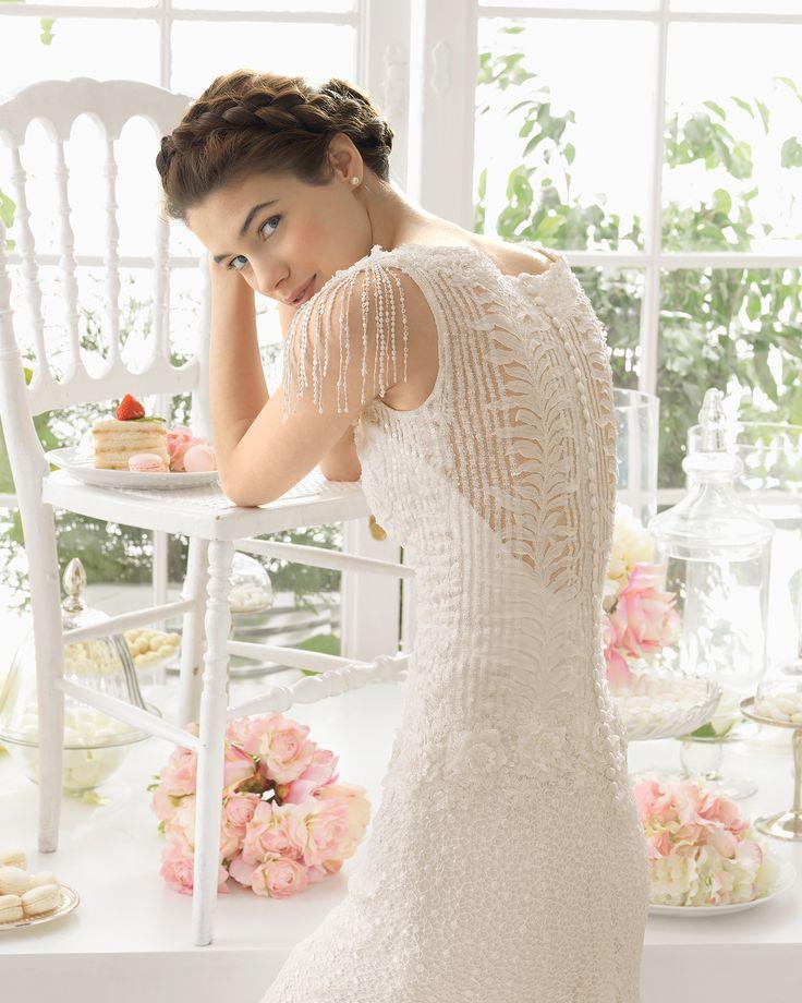 AIRE BARCELONA 2015-ADOR #wedding-dresses, #AIREBARCELONA2015, #свадебные-платья-2015