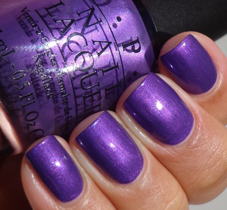 """OPI """"Purple with a Purpose"""", via Of Life And Lacquer"""