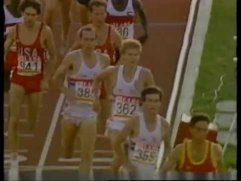 Coe, Ovett & Cram - 1500m Final,  Olympic Games, Los Angeles 1984 - YouTube