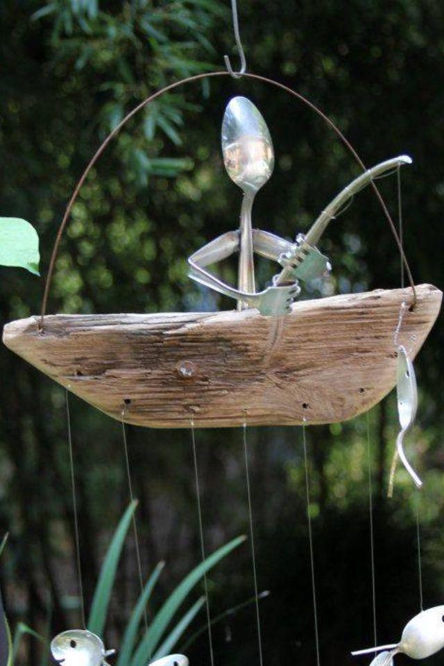 Decoración del jardín (?) Acá tienes una idea!