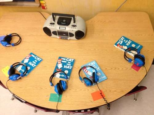set up a tangle free  listening center.  this site is called instructables and it is awesome for finding out how to do anything...