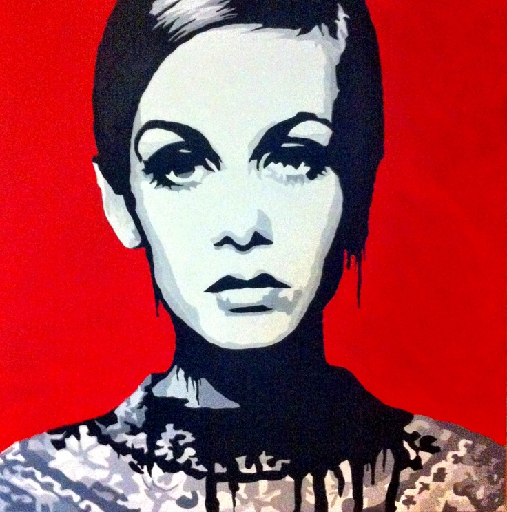 """Popart """"Fame"""" part of the """"she is...."""" Collection for TopModel UK in London"""