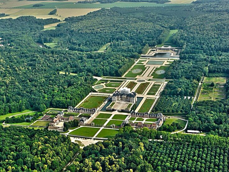 Chateaux de vaux le vicomte wish i was there for Baraque jardin