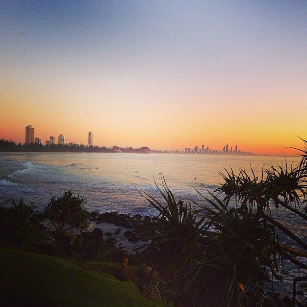 Posted by @kazmlucas Taken at Burleigh Point