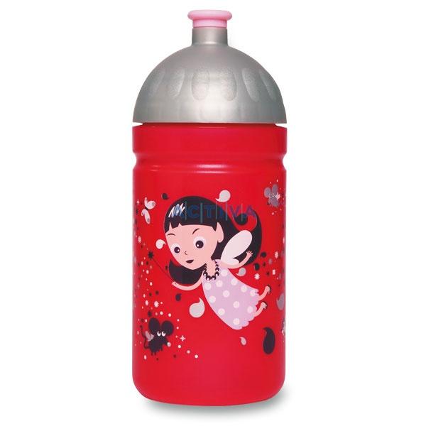Zdravá láhev na pití 0,5 l Víla - http://activacek.cz/skolni-batohy-a-doplnky/zdrava-lahev/